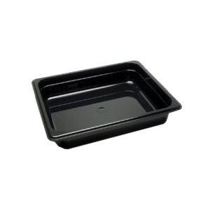 Deep 2'' black 1 / 2'' pan