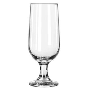 Footed beer glass 10 oz