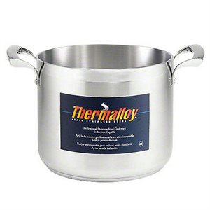 Stainless steel stock pot 40L