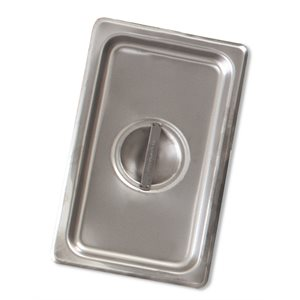 Steam table pan cover one-fourth