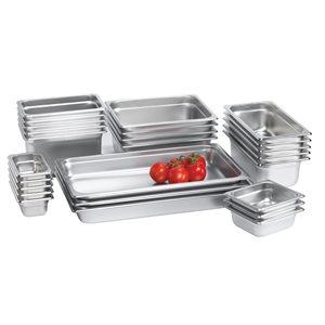 Steam table pan full, 4 in depth