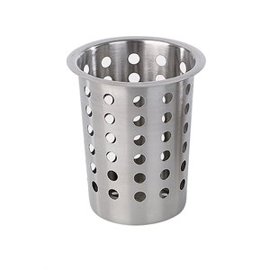 Cutlery cylinder perforated