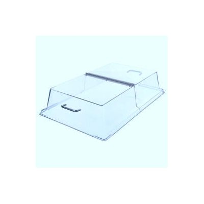 12'' x 20'' clear hinged dome cover